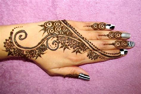 design henna modern stylish henna designs for hands new mehndi styles