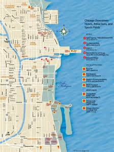chicago city map chicago downtown map printable printable maps