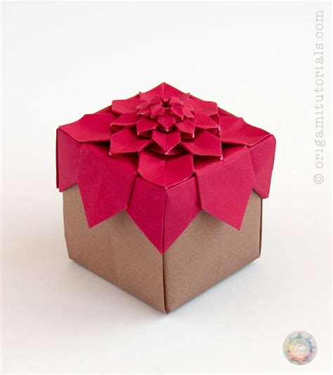 Origami Introduction - 19 best modular origami boxes images on boxing