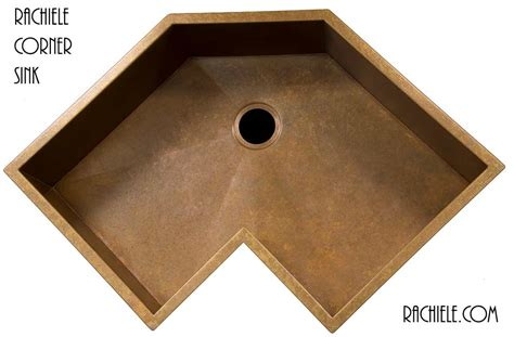 corner sinks for kitchen corner kitchen sinks in copper and stainless steel that
