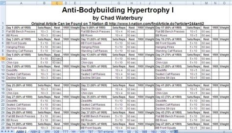 printable workout plan build muscle free weightlifting routines proven to sculpt your body