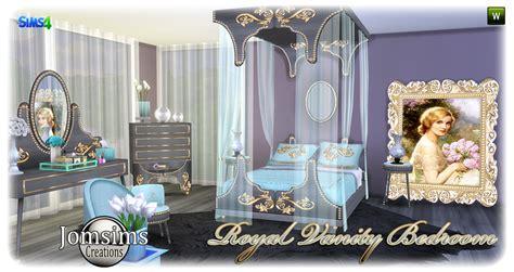 sims  blog royal vanity bedroom set  jomsims