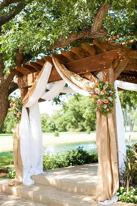 diy country chic wedding ideas 25 chic and easy rustic wedding arch ideas for diy brides