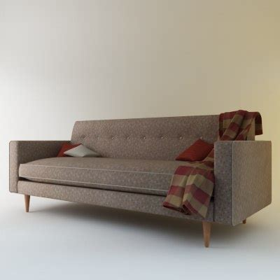 bantam sofa 3d model bantam sofa