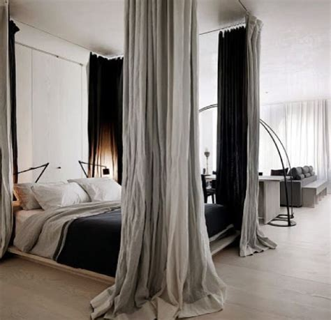 curtains around bed curtains around bed too bedroom pinterest