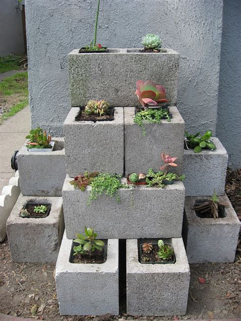 concrete block planters minneapolis homestead dreaming of concrete blocks raised beds planters tables and benches