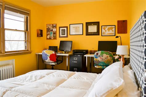 things in a bedroom dual purpose room office and guest bedroom