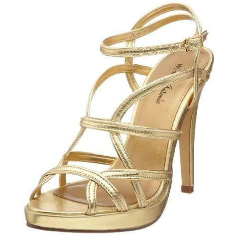 Gold Strappy Shoes Wedding by Gold Sandal Heels Strappy Gold Sandals Heels