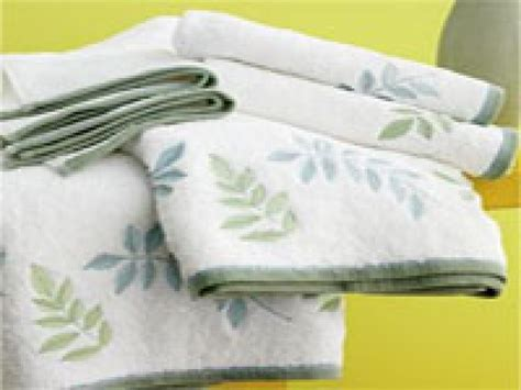 in a bathroom a basic guide to bath towels hgtv
