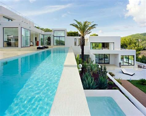 modern spanish homes ibiza dream residence combining spanish architecture and