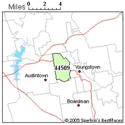 zip code map youngstown ohio best place to live in youngstown zip 44509 ohio