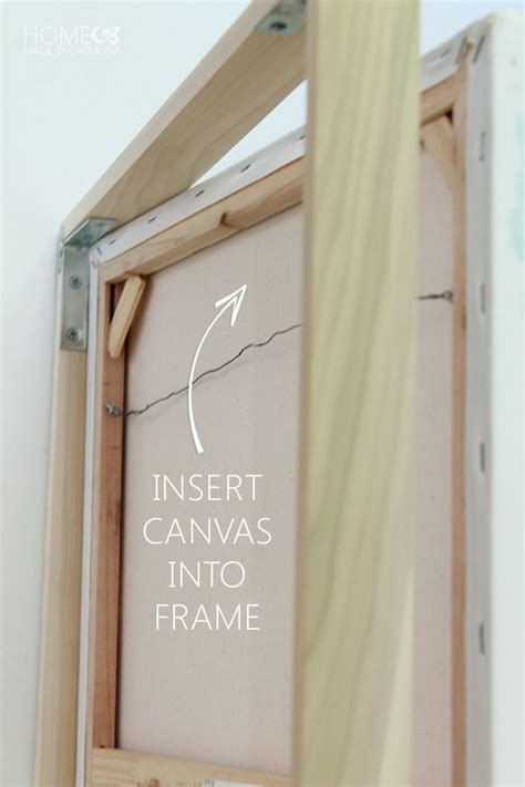 mounting posters without frames 25 best ideas about canvas frame on cheap