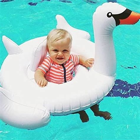 Pelung Floating Pool Swan Angsa sunnylife 174 baby swan durable safe comfortable pvc pool float puncture