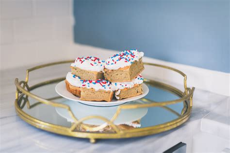 Healthy Corner Blue Whole Almond Butte 1kg fourth of july inspired protein cake bars a southern drawl