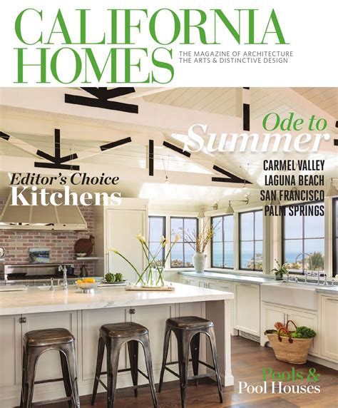 houses magazine california homes summer 2015 by california homes