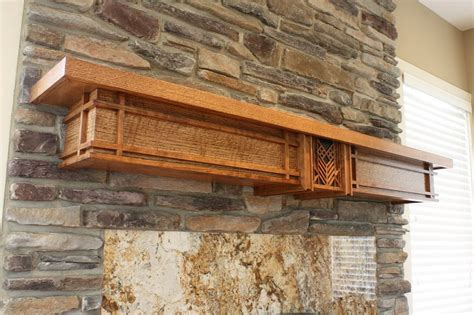 Hickory Mantel Shelf by The Sphere Of