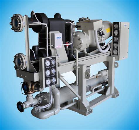 aqua air om  screw compressor chiller unit