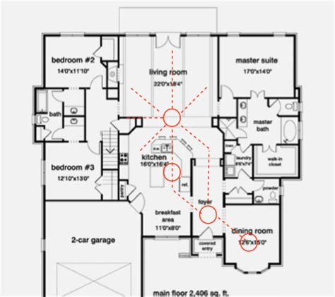 Open Floor Plan Design by 4 Invaluable Tips On Creating The Open Floor Plans