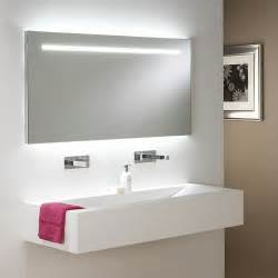 Bathroom Mirror Lighting Ideas by Large Illuminated Bathroom Mirror