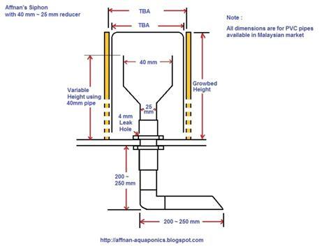 bell syphon diagram affnan s aquaponics siphon revised