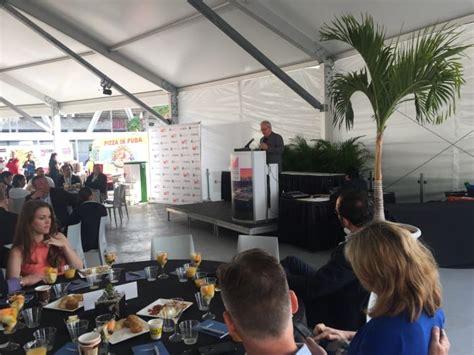 miami boat show industry breakfast miami 2017 dammrich two years of real prosperity ahead