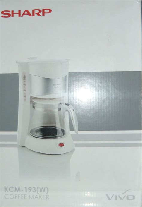 sharp kcm 193 coffee maker cebu appliance center