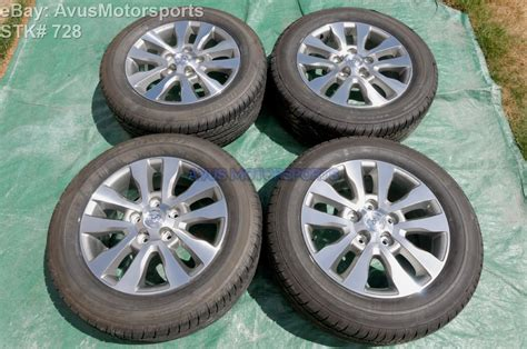 20 Toyota Tundra Wheels 2015 Toyota Tundra Limited 20 Quot Oem Wheels Tires Sequoia