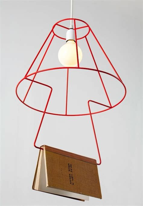A Shade Of Vire 7 wire lshade and bookmark6 fubiz media