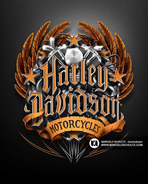 Harley Davidson Designs harley davidson designs on behance typography