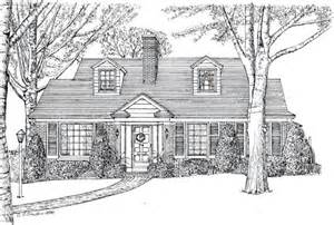 home drawing radnor circle home portraits house portraits commissioned home art house renderings homes
