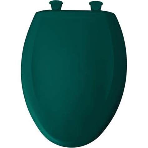teal toilet seat cover bemis sta tite elongated closed front toilet