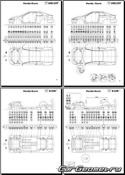 service and repair manuals 2006 acura rsx spare parts catalogs размеры кузова acura rsx honda integra dc5 2002 2006