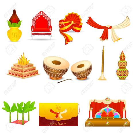 hindu wedding card graphics indian wedding cliparts clipart collection kalas weddings