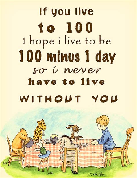 printable pooh quotes printable winnie the pooh 100 years quote by