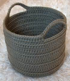 1000 ideas about crochet baskets on pinterest crochet