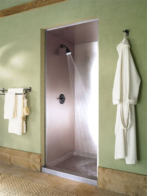 Stainless Steel Shower Stall by 25 Best Custom Shower Doors Ideas On Showers Custom Bathrooms And Inspired Large