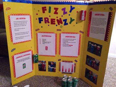 design science experiment elementary science fair display board ian s learning