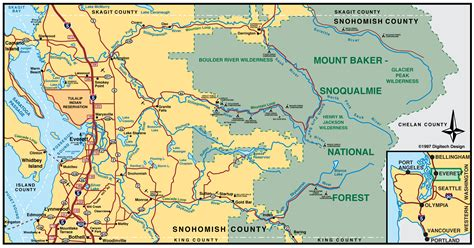 Snohomish County Wa Search Map Of Snohomish County Wa Washington Places