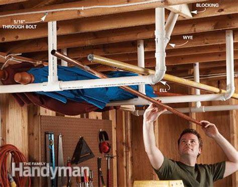 Garage Overhead Storage Ideas Clever Garage Storage And Organization Ideas Hative