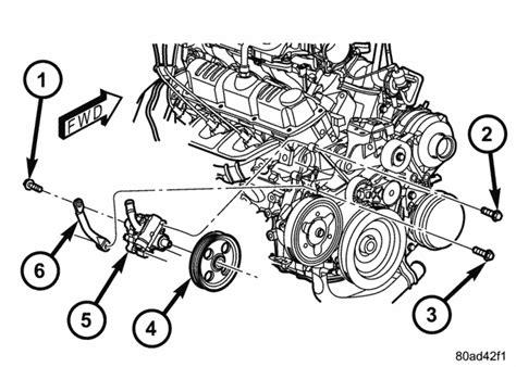 electric power steering 2000 dodge caravan free book repair manuals powersteering pump replacement dodgeforum com
