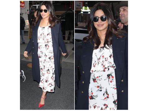 Marni Does Pyjamas Actually Day Clothes by Priyanka Chopra Does A Ralph Trench Coat Like No