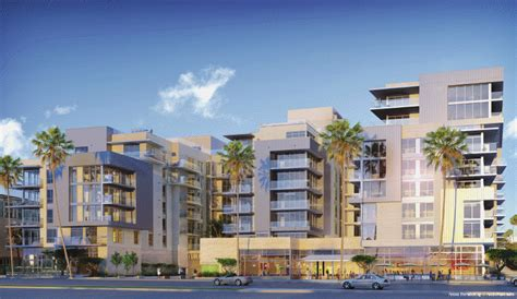 santa monica low income housing luxury condos workforce housing retail the new village at santa monica development