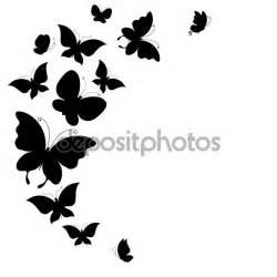 imagenes de mariposas blancas volando silueta mariposas volando blanco y negro buscar con