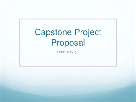 Ut Mba In Healthcare Capstone by Capstone Project