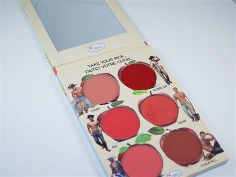 Thebalm How Bout Them Apple the balm how bout them apples cheek lip palette review swatches musings of a muse