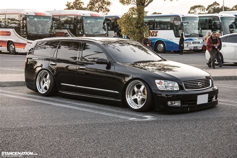 nissan stagea random sighting nissan stagea x japan stancenation