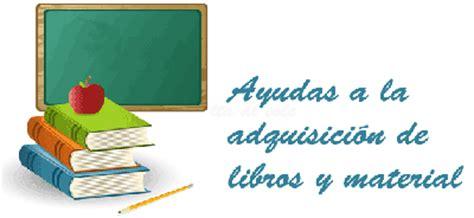 ayudas para libros y material escolar ayuntamiento de convocatoria de ayudas para libros y material escolar para