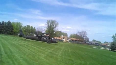backyard helicopter army helicopter lands in my back yard 05 14 2015 youtube