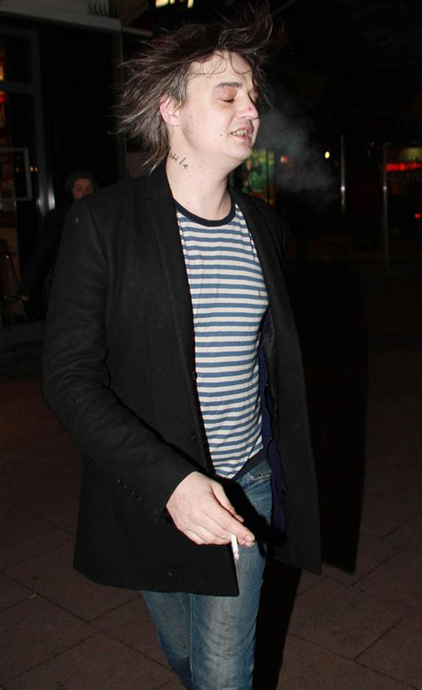 Pete Docherty Goes Free For Fashion by What A Waster Pete Doherty Fans Concerned After Singer