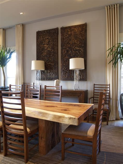 Glorious wood and seagrass table lamp decorating ideas gallery in dining room contemporary